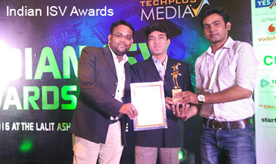 Best ROI Focused Solution of the Year – Indian ISV Awards,2016